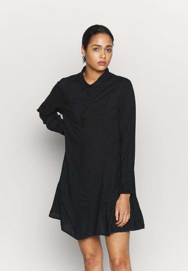 MIRANDA DRESS ASIA - Košilové šaty - black dark