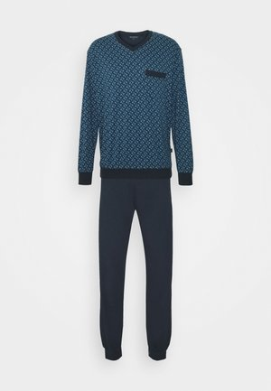 SCHLAFANZUG LANG - Pyjamaser - dunkelblau