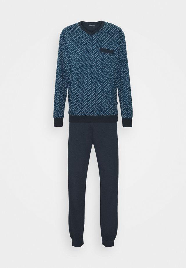 SCHLAFANZUG LANG - Pyjama - dunkelblau