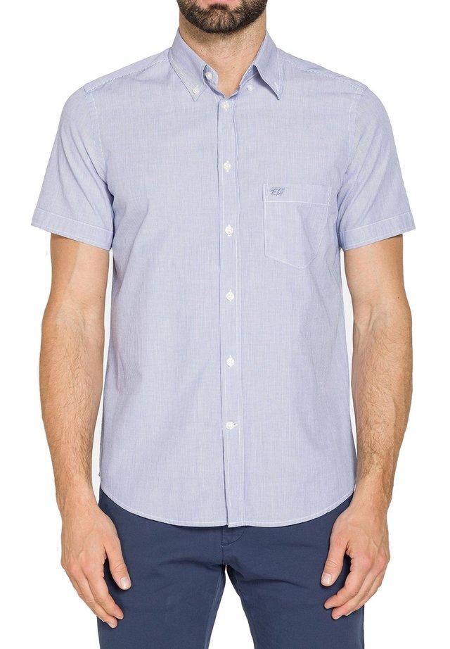 Camicia - blu chiaro-bianco