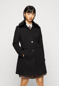 Dorothy Perkins Petite - DOLLY COAT   - Classic coat - black - 0