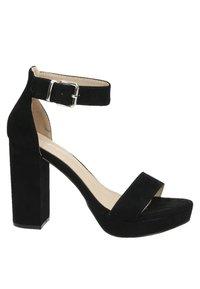 Dolcis - Sandalen met hoge hak - zwart - 5