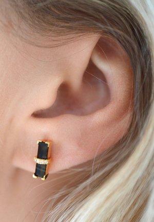 DARK SECRET - Earrings - yellow