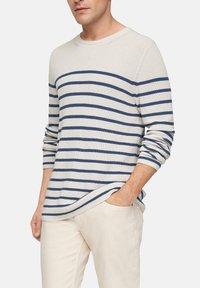 s.Oliver - TRUI - Jumper - offwhite stripes - 3