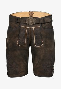 Spieth & Wensky - GEORGIO - Leather trousers - brown - 3