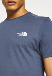 The North Face - SIMPLE DOME TEE - Basic T-shirt - vintage indigo - 5