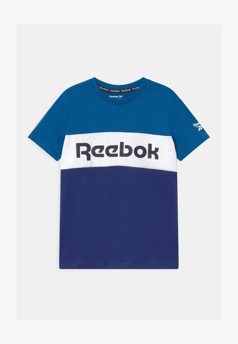 Reebok - COLOR BLOCK - Triko spotiskem - royal