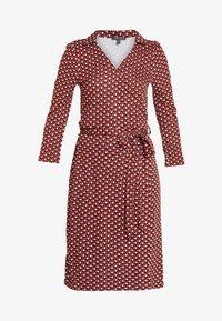 Esprit Collection - WRAP DRESS - Jersey dress - red - 4