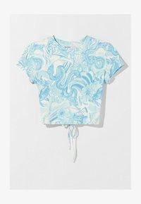 Bershka - T-shirts print - blue - 5