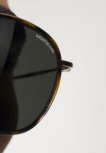 UNISEX - Sunglasses - havana/gold-coloured/grey