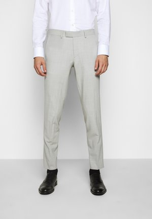 GRANT TRAVEL - Oblekové kalhoty - cloud grey