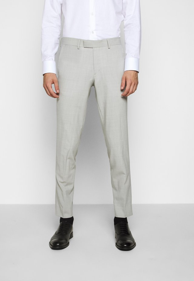 GRANT TRAVEL - Pantaloni eleganti - cloud grey