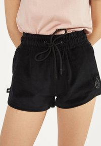 Bershka - Shorts - black - 3