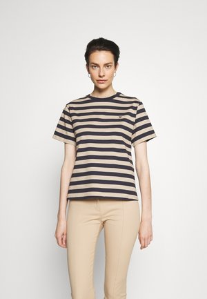 NAVETTA - T-shirt med print - blue