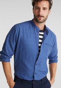 Esprit - WINTERWAFFL - Shirt - grey blue - 3