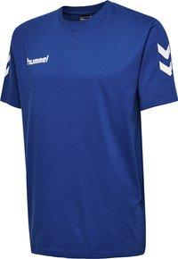 Hummel - HMLGO - Print T-shirt - true blue - 2