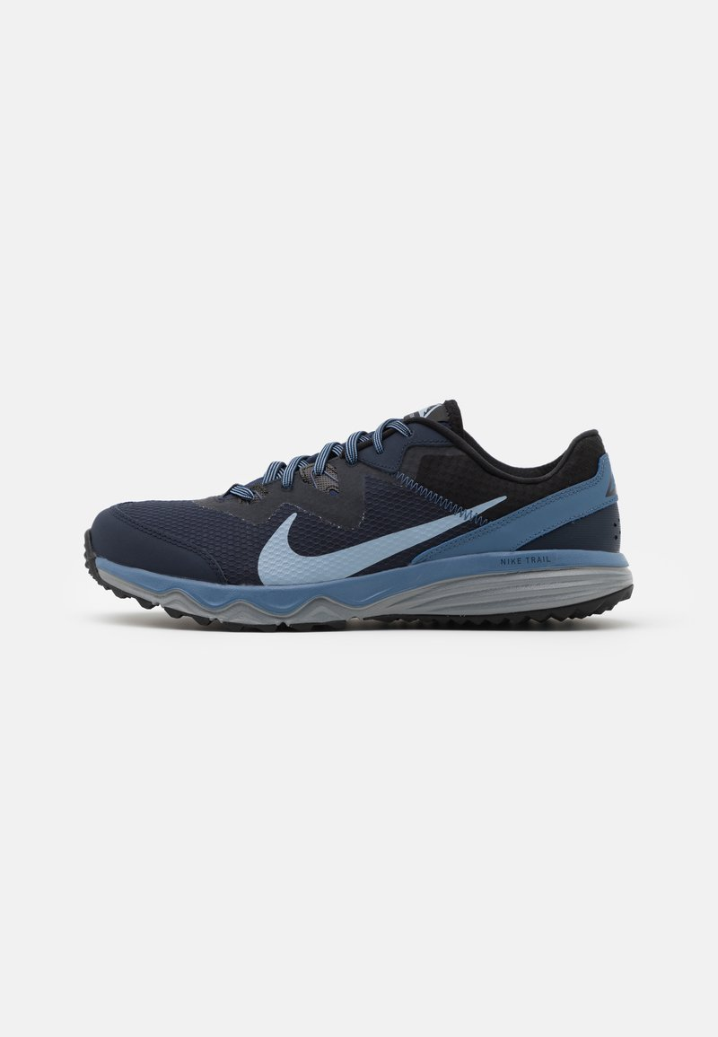 Nike Performance - JUNIPER - Trail running shoes - obsidian/obsidian mist/black/ocean fog/cool grey