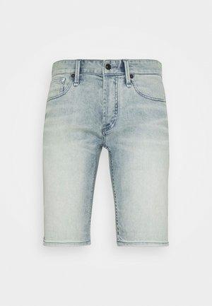 RAZOR - Denim shorts - blue