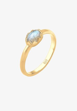 RING VINTAGE LABRADORIT EDELSTEIN  - Prsten - gold-coloured