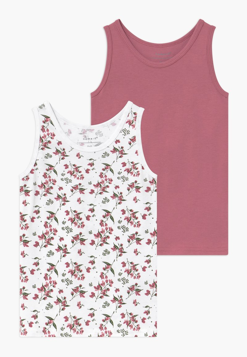 Name it - NMFTANK 2 PACK - Undershirt - heather rose