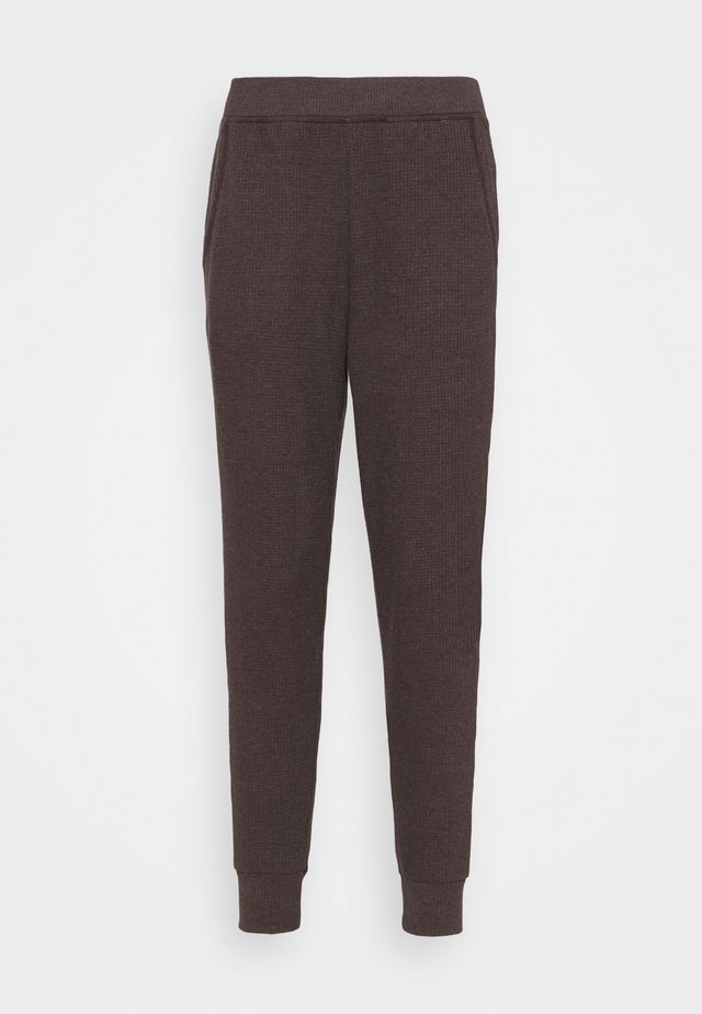 WAFFLE JOGGER - Trainingsbroek - university grey