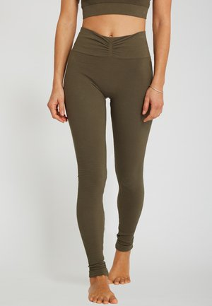SAVASANA - Leggings - kaki
