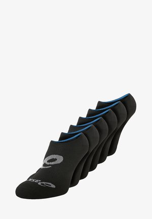 INVISIBLE SOCK 6 PACK UNISEX - Sports socks - performance black