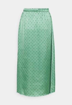 JDYDOTTIE SKIRT - Maxi skirt - loden frost/eclips dots