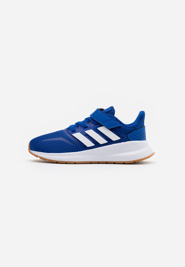 RUNFALCON UNISEX - Scarpe running neutre - royal blue/footwear white