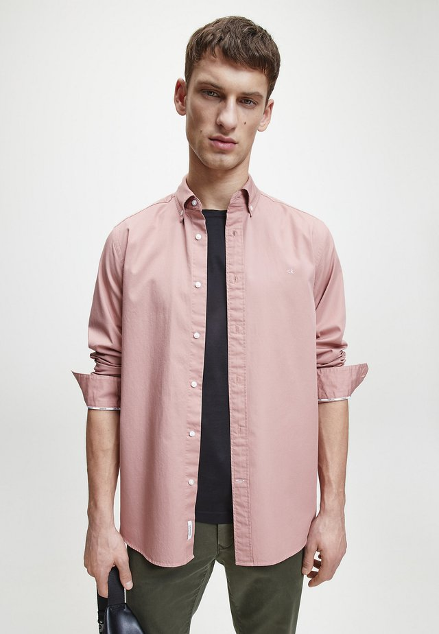 Shirt - muted pink