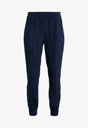 JOGGER WITH SIDE TAPE - Tracksuit bottoms - navy