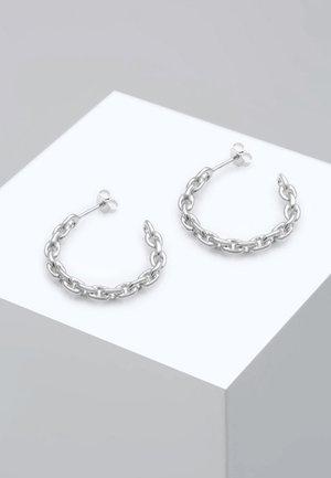 CREOLEN HÄNGER CHAIN BLOGGER TREND  - Boucles d'oreilles - silver-coloured
