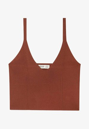 STICK-BRALETTE - Top - brown