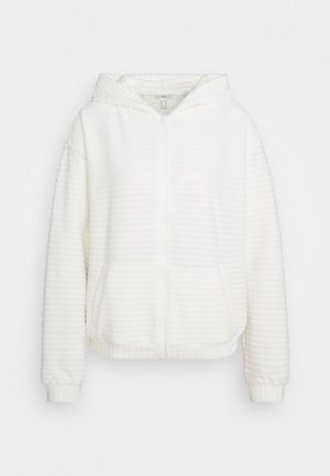 Mikina na zip - off white