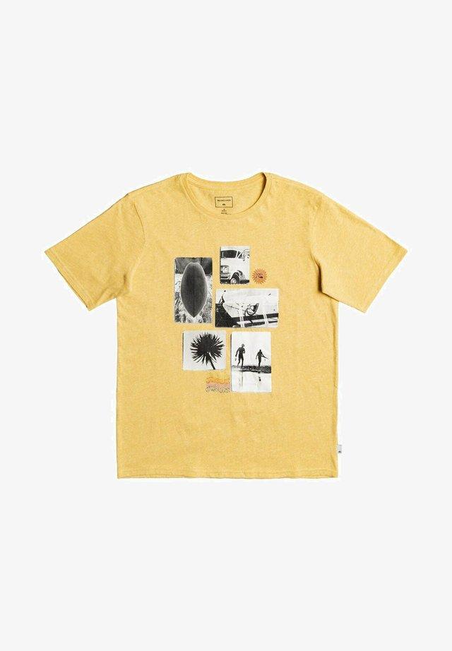 T-shirt print - rattan heather