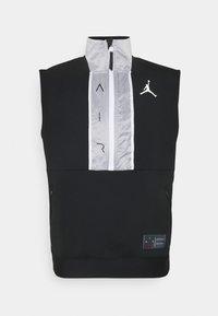 Jordan - AIR VEST - T-shirt sportiva - black/white - 4