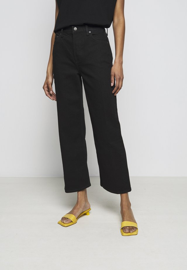 THE MIKEY HIGH RISE WIDE LEG - Jeans Relaxed Fit - black beauty