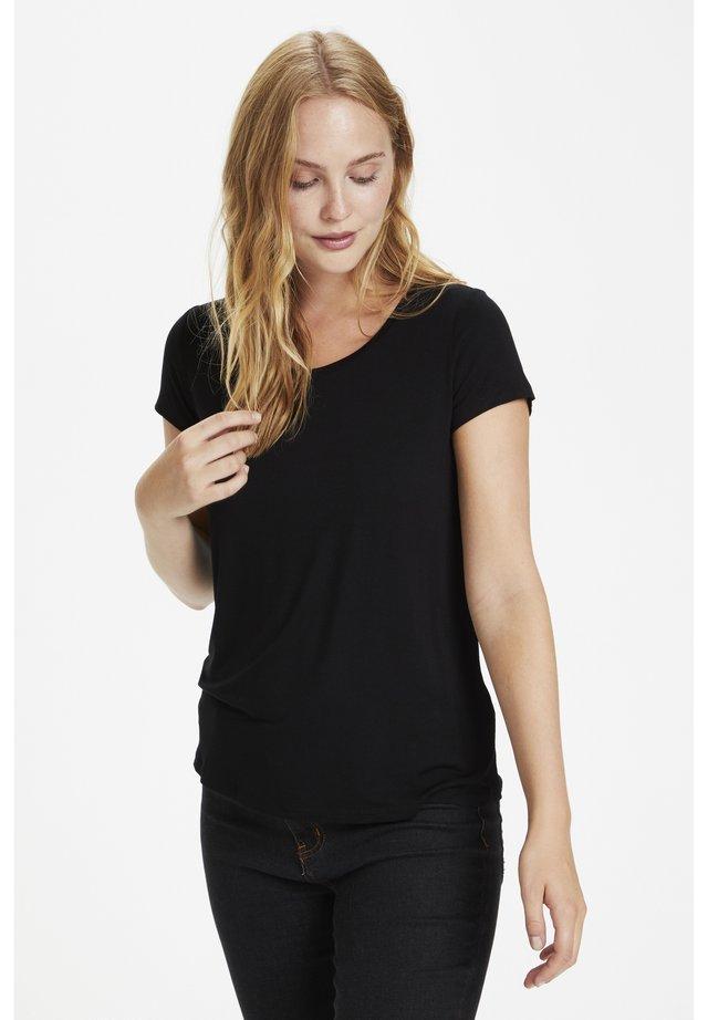 POPPY  - Basic T-shirt - black