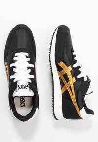 ASICS SportStyle - TARTHER - Sneakersy niskie - black/pure gold - 3