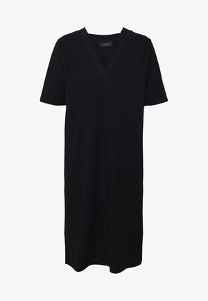 TECH DRESS - Denní šaty - black