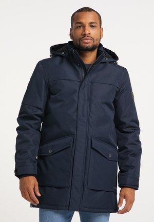 Winter coat - deep capri