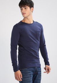Blend - Long sleeved top - navy - 0
