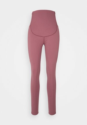 MATERNITY LEGGING - Medias - rose brown
