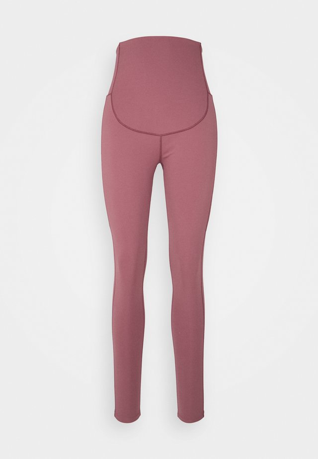 MATERNITY LEGGING - Tights - rose brown