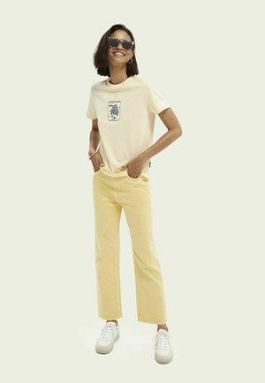 Print T-shirt - sunshine yellow