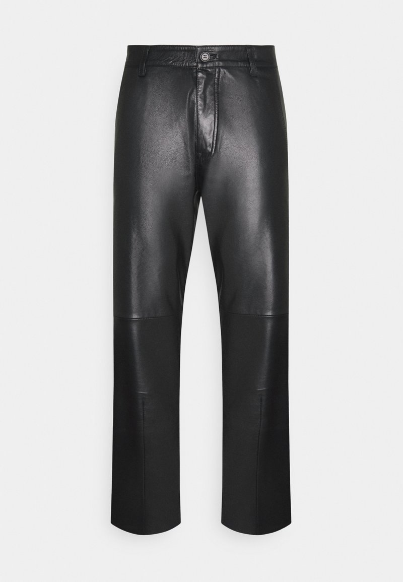 Tiger of Sweden Jeans - WEJN - Leather trousers - black