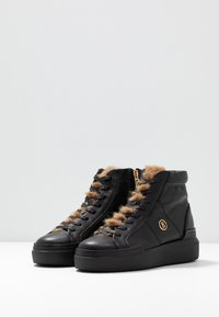 Bogner - HOLLYWOOD  - High-top trainers - black/nature - 3