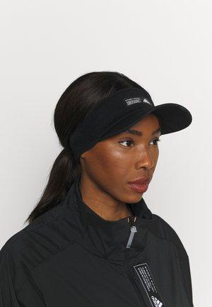 VISOR - Cap - black/black/white