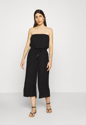 OVERALL CULOTTE  - Jumpsuit - schwarz