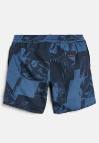 O'Neill - CALI FLORAL - Swimming shorts - blue with blue - 1